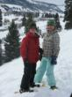Kids snowshoeing in Crested Butte.