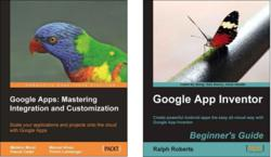 Two Google Apps Books from Packt Publishing