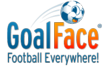 The GoalFace logo with its new tagline.