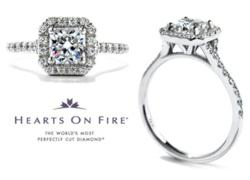 Win this 1.12 cwt Hearts On Fire® diamond ring worth $10,250