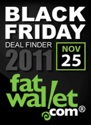 Top 25 Black Friday Deals and Steals of 2011 from FatWallet.com