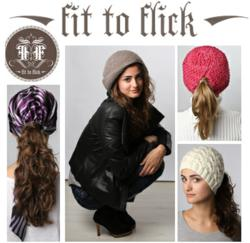 Fit to Flick Ponytail Hats