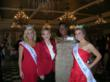 Miss Virginia Elizabeth Crot; Linda Mathes, CEO of the Red Cross in the National Capital Region; Keynote speaker Simona Foster-Jackson;and Miss Maryland Carlie Colella.