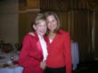 Linda Mathes, CEO of the Red Cross in the National Capital Region, and Alison Starling, evening co-anchor at WJLA-TV7, who emceed the program.