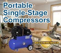 portable single stage compressor, portable air compressor, portable air compressors