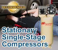 best single stage compressor, top single stage compressor, stationary single stage compressor