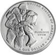 The back of the 2011 Congressional Medal of Honor silver dollar.  (Photo credit: United States Mint.)