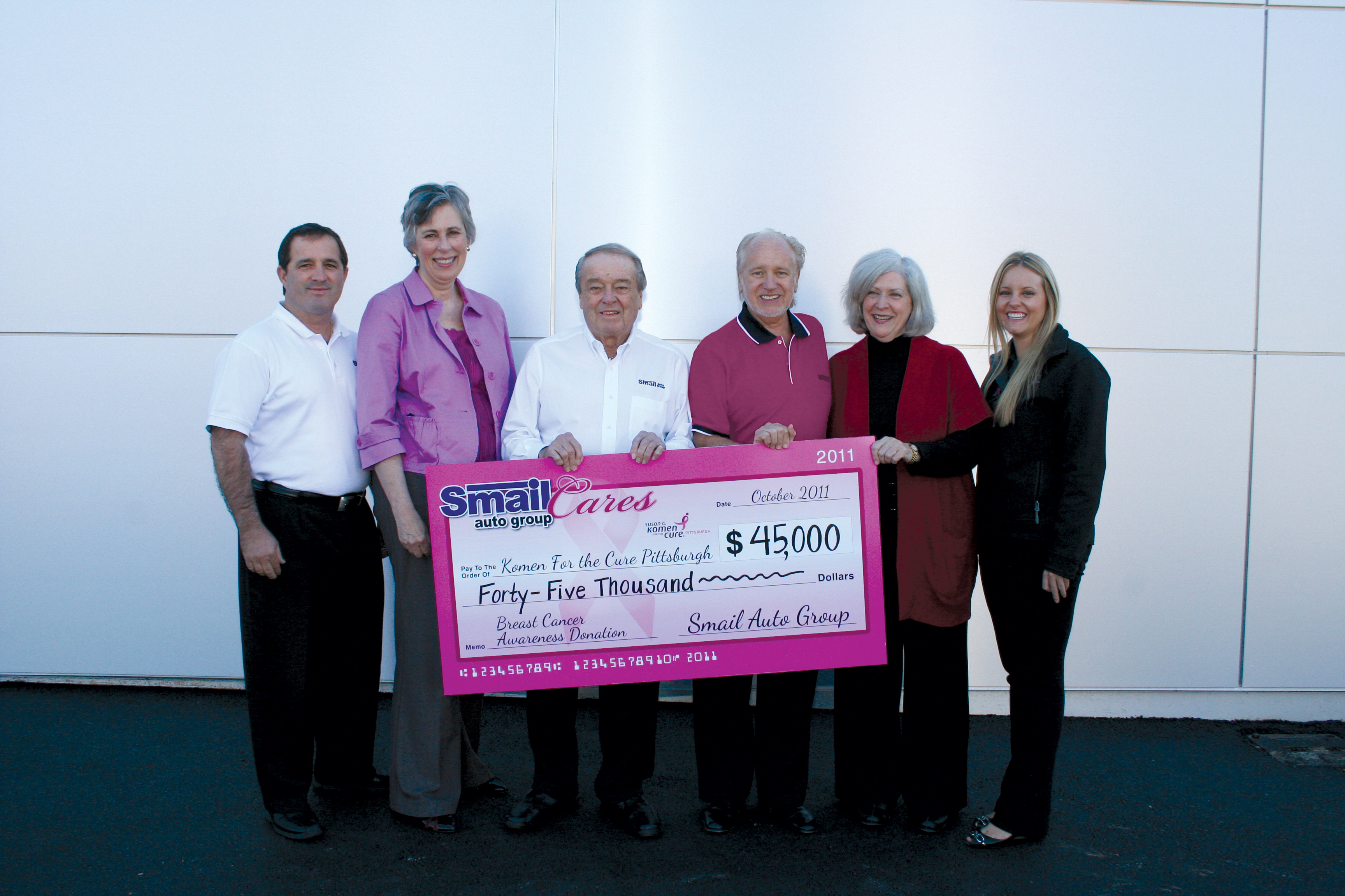 Smail Auto Group Cares Campaign Raises Over 50 000 For