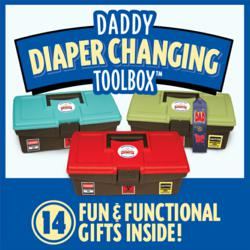 Daddy Diaper Changing Toolbox New Dad Gifts