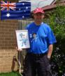 Allan Cox (AUS) Putter King Miniature Golf Scavenger Hunt Champion