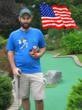 Patrick Sheridan (USA) Putter King Miniature Golf Scavenger Hunt Bronze Medal Winner