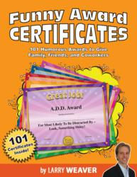 Funny Award Certificates – 101 Funny Awards to Give ...