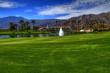 photo of La Quinta Country Club fairway with clubhouse in background