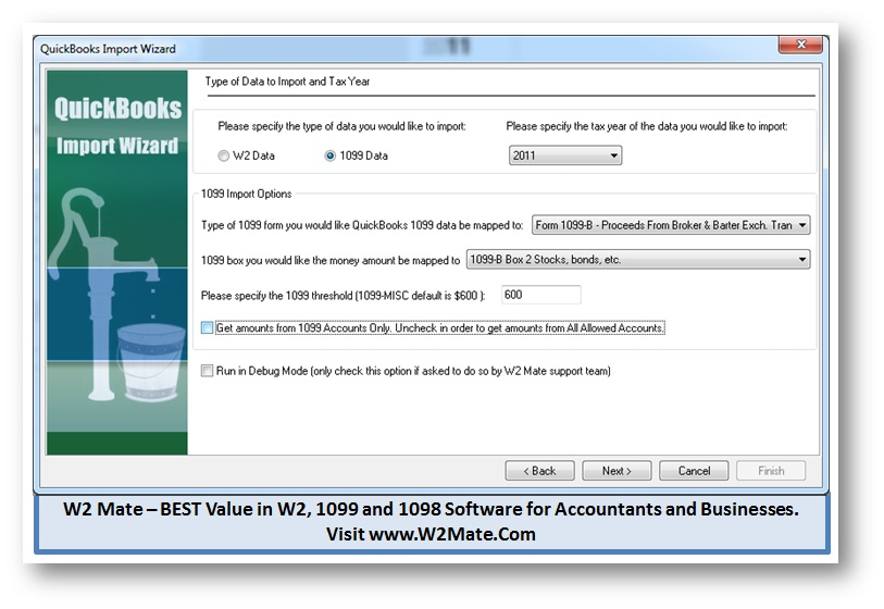 QuickBooks 1099 Electronic Filing: W2 Mate software Introduces ...