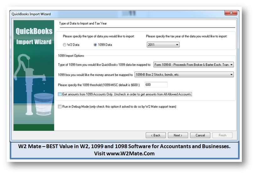 Tax Software: Tax Software Import W2