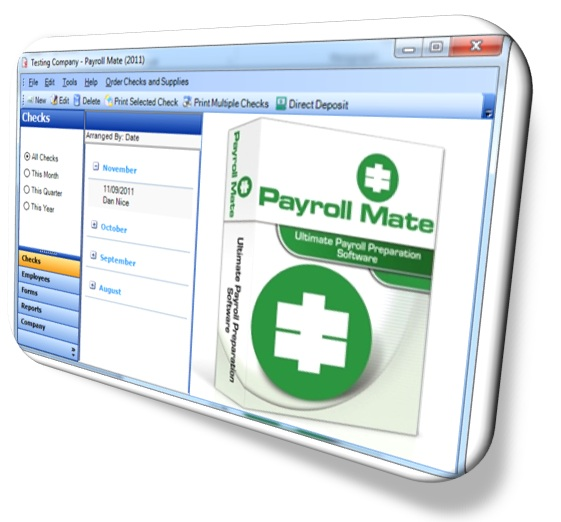 Payroll Software: Payroll Mate® 2014 Now on Sale for $90 Only