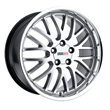 Corvette Wheels by Cray - the MANTA in hyper silver