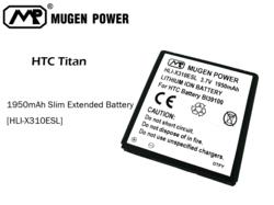 HTC Titan Extended Battery