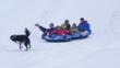 Tubing at Grand Lake Nordic Center