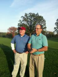 CRMA's Phelan and energy manager FEL Power's Fromuth raisd funds for  Nutmeg State Games