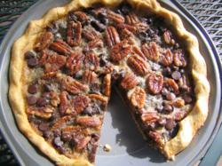 Pecan Pie witih Gluten-Free Pie Crust