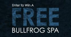 Free Hot Tub Giveaway by Bullfrog Spas