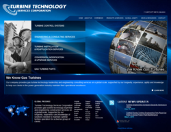 Turbine Technology Services' website