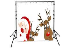 Christmas backdrop example