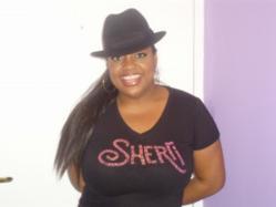 Sherri in Custom T Couture T-Shirt