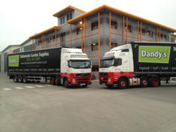 Farralls Vehicles With New Dandy's Livery.