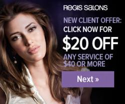 Regis salon coupons 2019