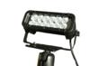 The LEDLB-12ET-DBM-I LED light bar consists of an extreme environment LED light bar and heavy duty trunnion bracket paired with a double ball joint mount and 200lbs grip magnetic base.