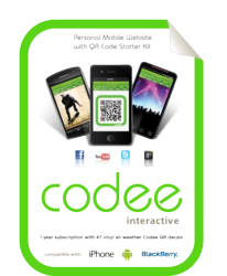 The first consumer oriented QR code product
