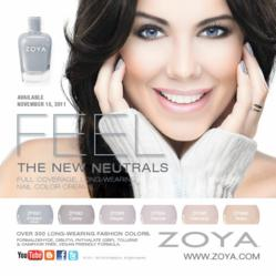 Zoya Nail Polish Feel Collection Image