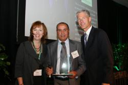 Hassan Ouibrourk Receives CHLA 2011 Award