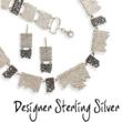 Mesh Designer Sterling Silver Jewelry Collection