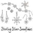 Sterling Silver Snowflake Jewelry