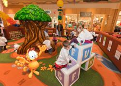 PLAYTIME Creates Licensed Garfield Character Play Areas