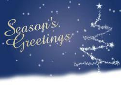 Corporate Christmas ecard