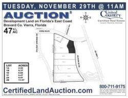 Auction Division Plat Map - Viera Blvd