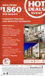 Save Big on Hot New Olson Homes