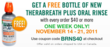 TheraBreath® PLUS Oral Rinse FREE Offer!