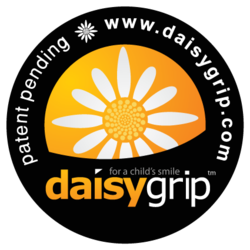 DaisyGrip Logo - For a Child's Smile, For a Photographer's Camera