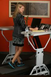 Workout at Work with TrekDesk Treadmill Desk