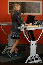 Workout at Work with TrekDesk Treadmill Desk