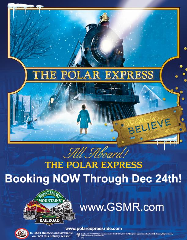 the polar express  the great smoky mountains railroad u2019s