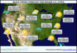 Black Friday U.S. Major Cities Forecast - Provided by weathertrends360