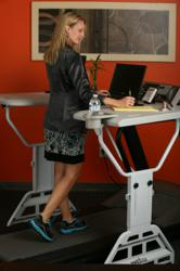 Norwegian research center promotes the TrekDesk Treadmill Desk as a way to workout at work