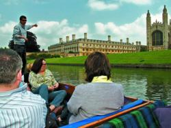 Chauffeured punt tour on the College Backs