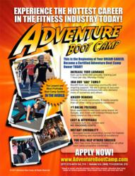 The Official Adventure Boot Camp Exercise Drill Book Offers More Than 100 Boot Camp Workouts to Keep Clients Coming Back